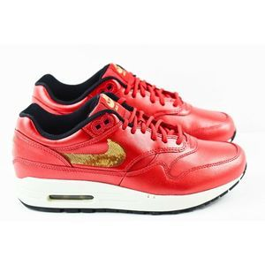 Nike Air Max 1 Womens Size 7 Shoes CT1149 600